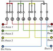 как подключить трехфазный электрический счетчик