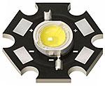одноваттный светодиод на родном радиаторе