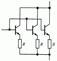 Как правильно параллельно соединять биполярные транзисторы