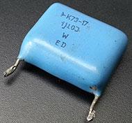 пленочный неполярный гасящий конденсатор для схемы питания реле от 220 вольт