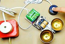 как сделать звонок для двери из старого телефона на трансформаторе