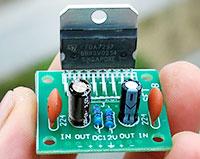 Как сделать простой усилитель звука (мощности), два канала по 15 Вт, своими руками