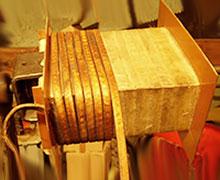 перемотка трансформатора под нужное напряжение и ток, меняем вторичку