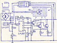 схема электронной нагрузки